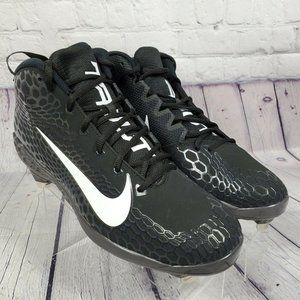 Nike Men's Black Force Trout 5 Baseball Cleats